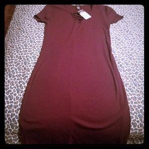 Small Rue21 maroon dress